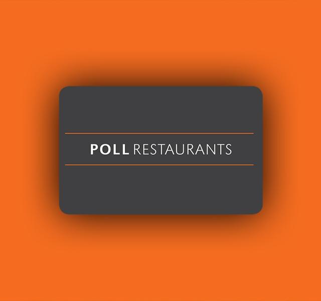 Poll Restaurant Gift Card