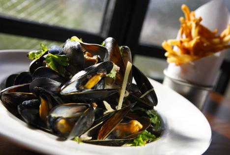 Bar Frites mussels